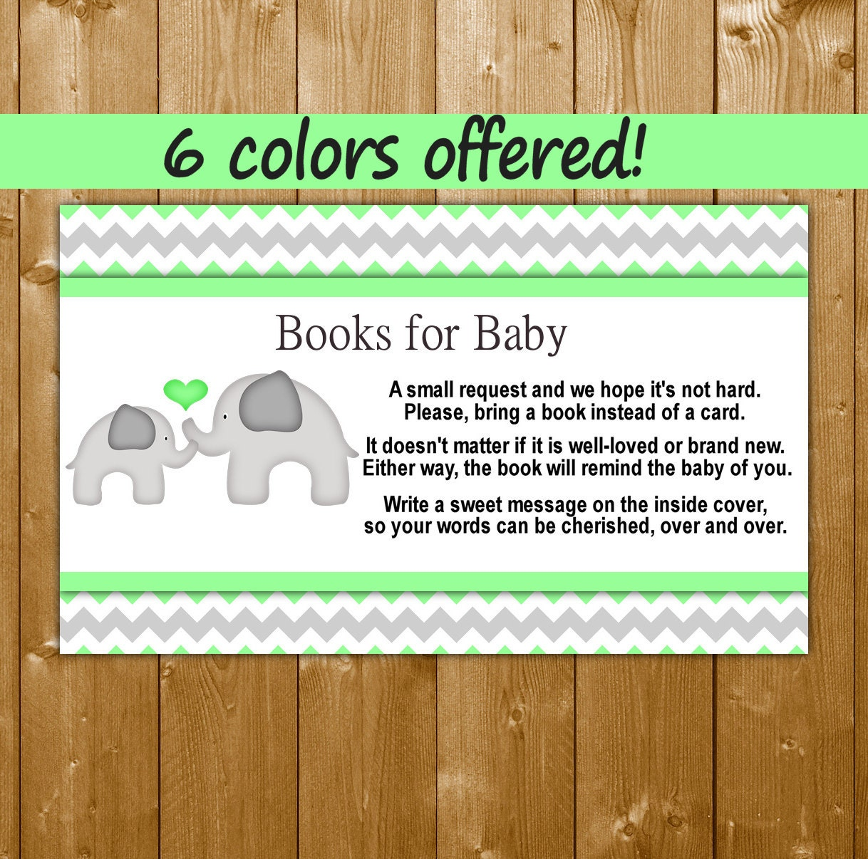 elephant baby shower books for baby mint baby by showerprintables