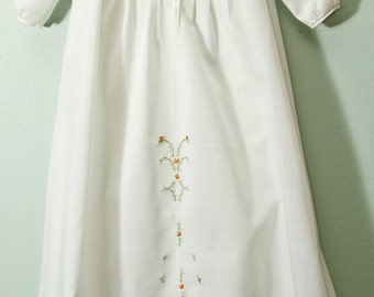 Pintucked Heirloom Baby Gown