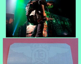 Green Day stickers CLASS 13 guitar vinyl decal Billie Joe Armstrong  + BONUS