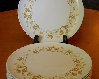 """Vintage Centura by Corning """"LAUREL"""" 10""""Dinner plates Like NEW condition!"""