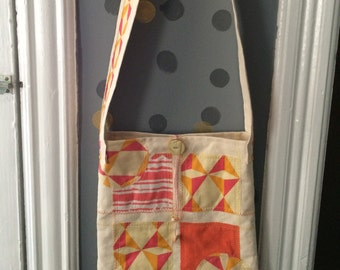 Warm Geometric Purse