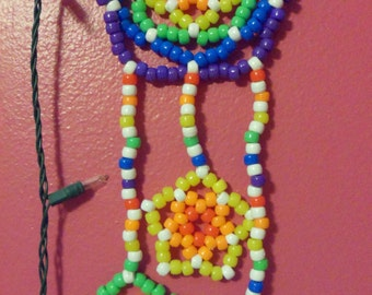 Rainbow Kandi Dream Catcher