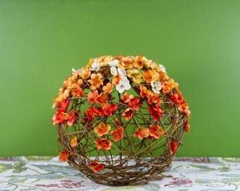 Orange Blossom Flower Centerpiece, Wedding Centerpiece, Wedding Centerpieces, Wedding Decorations, Flower Centerpiece Wedding, Decorations