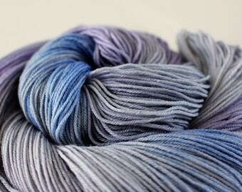 The Soundkeeper - Nuthatch -  75/25 superwash merino/ nylon sock yarn