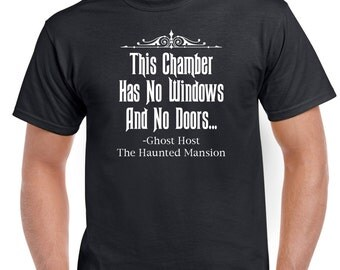 The Haunted Mansion Ghost Host Quote Tshirt