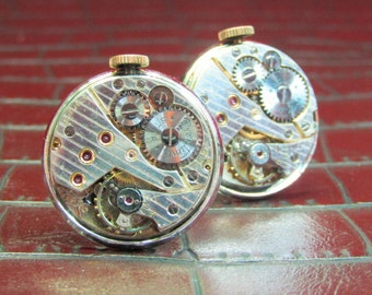 BENTIMA STAR Vintage Watch Movement Cufflinks