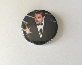 Leonardo DiCaprio Pinback Button