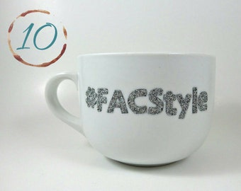 Hand Designed Fifth Avenue Collection #FACStyle 10 Glitter Mugs