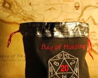 Bag of Holding Dice Bag (Made to Order)