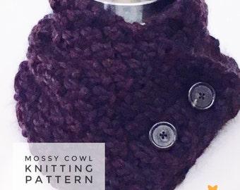 KNITTING PATTERN: Mossy Cowl