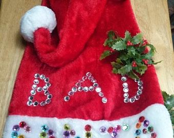 Bad santa's hat