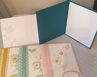Set of 4 Notecards