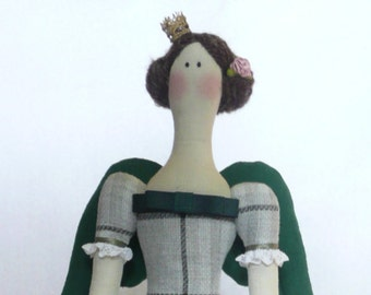 Doll in the style of Tilda