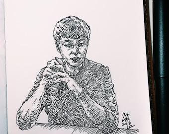 unique self-portrait