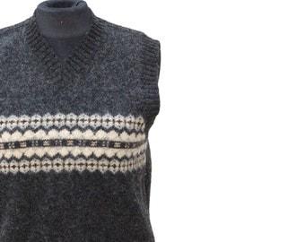Vintage never-been-worn wool vest