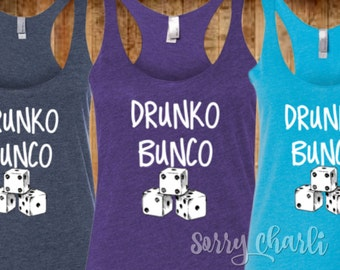 Drunko Bunko Tank Top