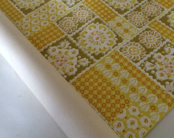 Vintage wallpaper roll from the 1960s