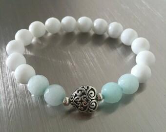 Harmony Bracelet, Gemstone Bracelet, Beaded Bracelet, Boho, healing gemstone, Jewelry, Bracelet, Gifts for her, Birthday gift