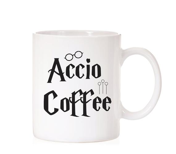 Accio Coffee   Harry Potter   Harry Potter Inspired    Spell Mug   Hogwarts   Fandom