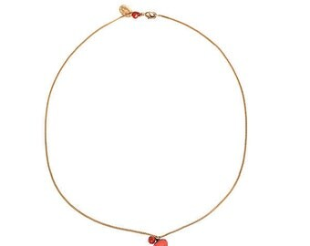 Short pendant Pearl colored