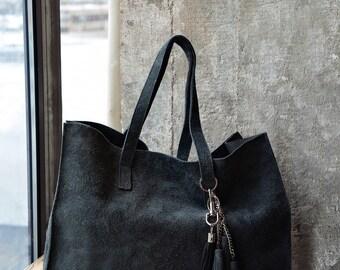 SOFI grey tote bag