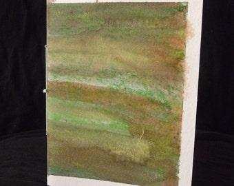 Green Fields sketchbook