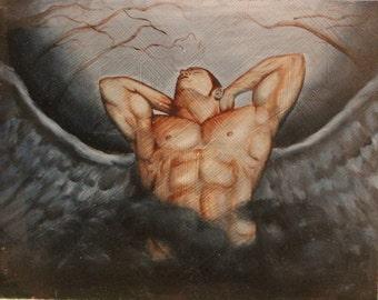 Dark Angel Painting