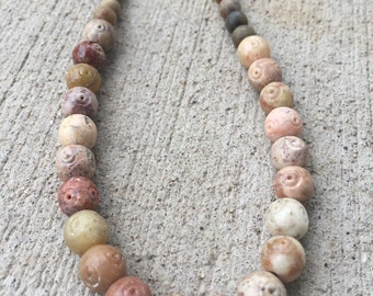Earthy Beaded Necklace