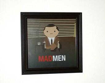 Don Draper (Madmen) print