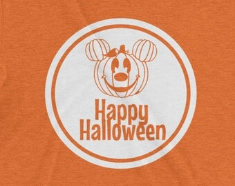 DISNEY SVG & png Digital File Download Circle with the Mickey Mouse Halloween Mickey Pumpkin perfect for custom Disney Shirt or Disney Onsie