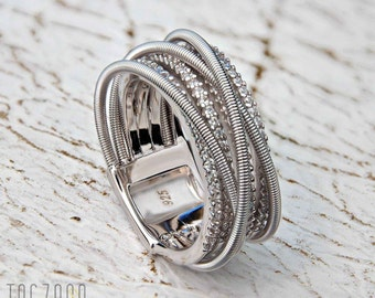 Only You Ring | 925 Sterling Silver | Rhodium Plated | Oxidesed Silver | Cubic Zirconia | Free gift box | Free shipping Australia and NZ