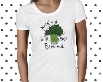 Broccoli Shirt Vegan Shirt Vegan Tshirt Vegetarian Shirt Vegan Clothing Vegan T-Shirt Vegan T Shirt Animal Rights Vegan Tee Vegetable Tee