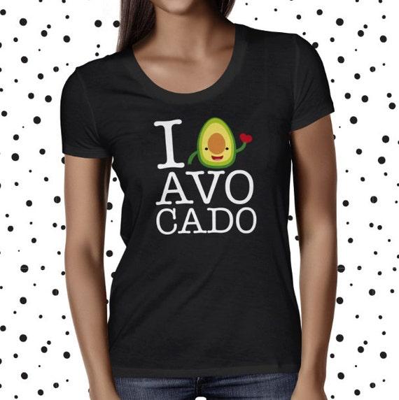 Avocado Shirt - Cute Avocado Tee - Vegan Tee - Funny Plant-Based Shirt - Funny Vegetarian Tee