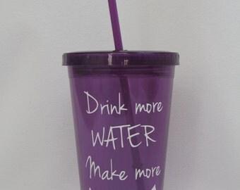 nursing momma tumbler, drink more water make more milk, breastfeeding