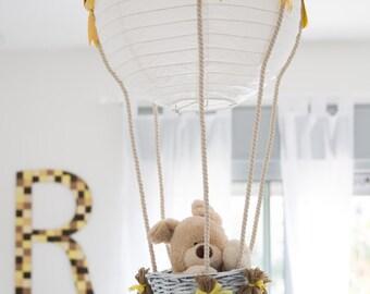 hot-air balloon lampshade