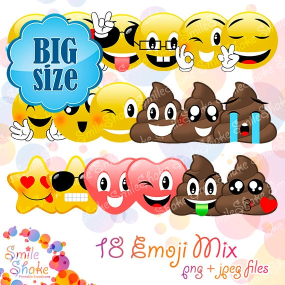 Adorable Cupcake Toppers Emoji Movie