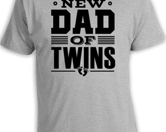 New Dad Shirt Dad Gift ideas For Him New Father T Shirt New Daddy Shirt New Baby Gift Gifts For New Dad Of Twins Shirt Mens Tee FAT-57