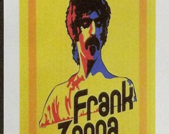 Frank Zappa Reproduction 6'x18' Retro Concert Poster // Half Sheet
