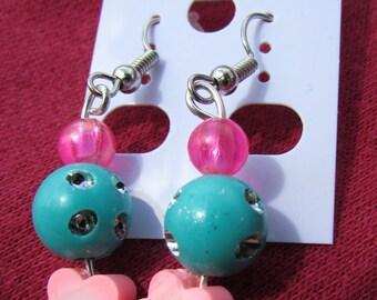 Abigail's Beaded Drop Earrings 002