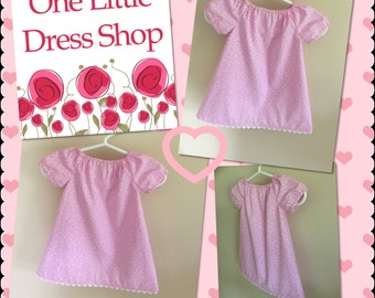 Peasant Dress - Size 3-6 Months