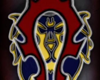 World of Warcraft Alliance Horde Phone Mobile Device Background