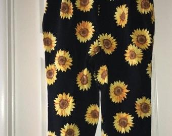 VINTAGE Sunflower Pants