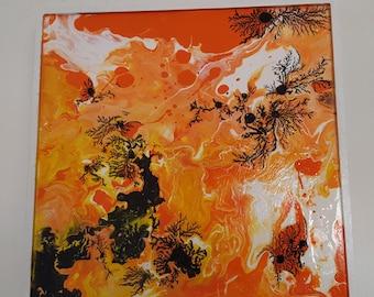 Acrylic table 25 x 25