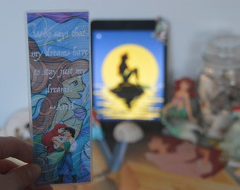 The Little Mermaid Bookmark