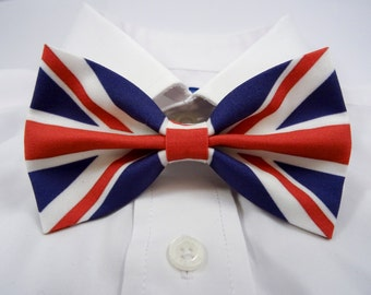 UK Flag Bow Tie, United Kingdom Flag, British Flag