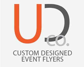 Custom Event or Promotional Flyer-Digital Download