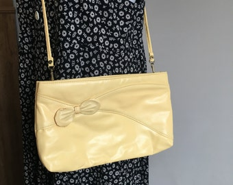 Vintage Yellow Purse