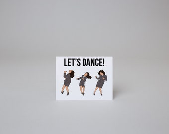 Let's Dance - Seinfeld Card