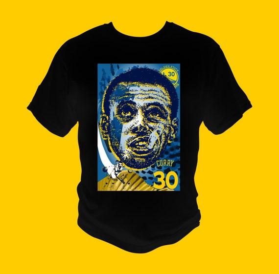 Stephen Curry Graphic T-Shirt Golden State 30 Made to match Under Armour and Nike Shoes