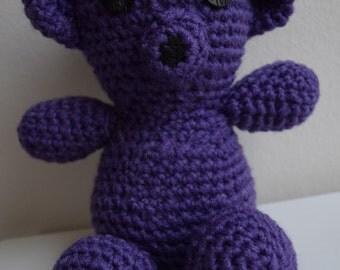 Stuffed Amigurumi Teddy Bear